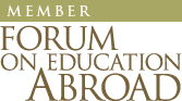 We are proud to be a member of the Forum on Education Abroad
